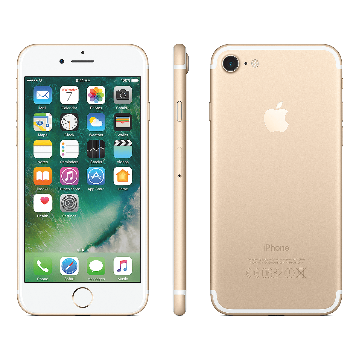 Refurbished Iphone 7 gold