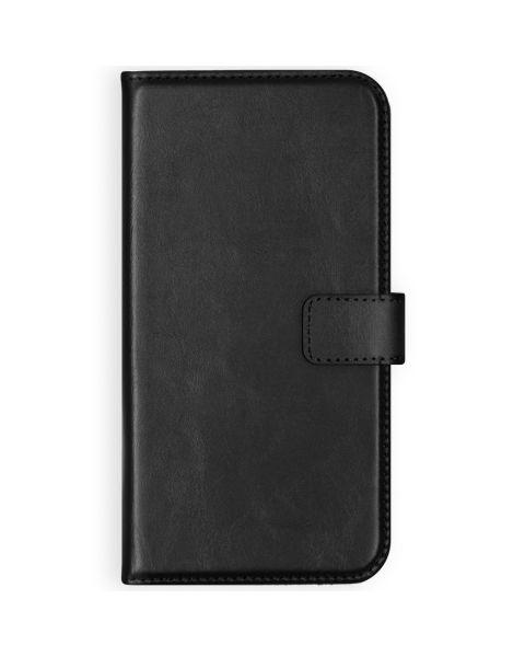 Echt Lederen Booktype Samsung Galaxy S9 - Zwart / Black
