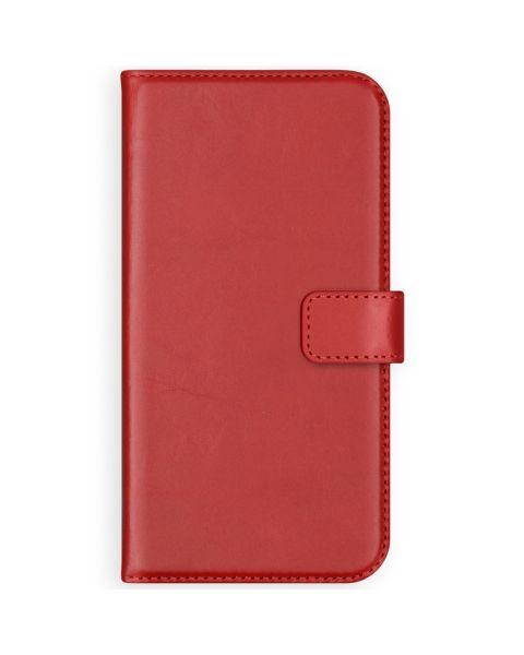 Echt Lederen Booktype Samsung Galaxy S9 - Rood / Red