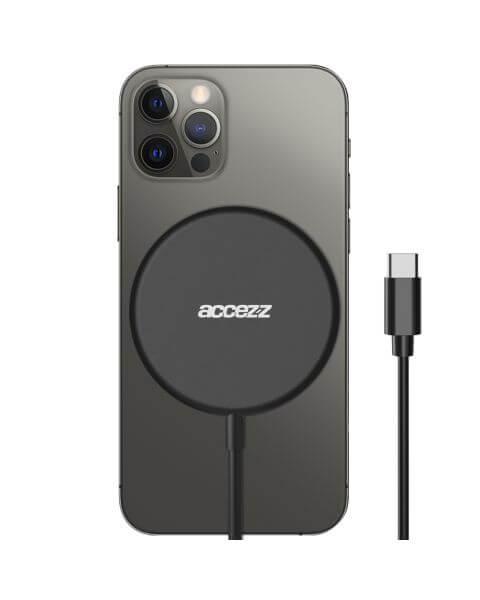 USB-C to MagSafe Wireless Charger - 15W - Zwart - Zwart / Black