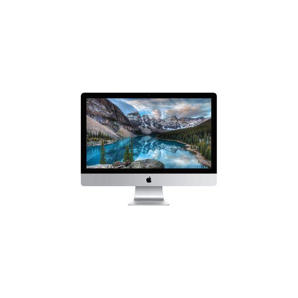 iMac 27-inch Core i7 4.0 GHz 256 GB SSD 32 GB RAM Zilver (5K, Late 2015)