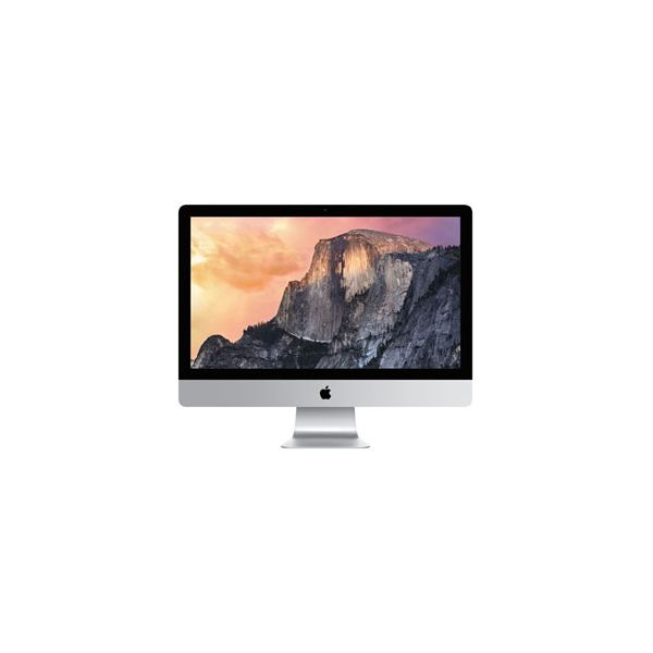 iMac 27-inch Core i7 4.0 GHz 512 GB SSD 8 GB RAM Zilver (5K, Late 2014)