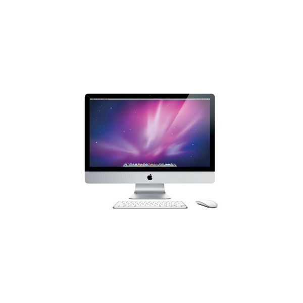 iMac 27-inch Core i7 2.93 GHz 256 GB SSD 32 GB RAM Zilver (Mid 2010)