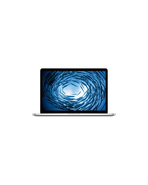MacBook Pro 15-inch Core i7 2.3 GHz 512 GB SSD 16 GB RAM Zilver (Late 2013)