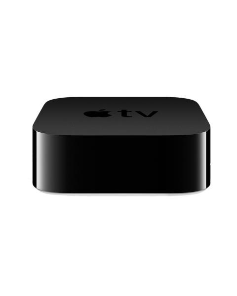 Apple TV | 4K HDR | 32GB Flash Storage | Media Streamer | Zwart
