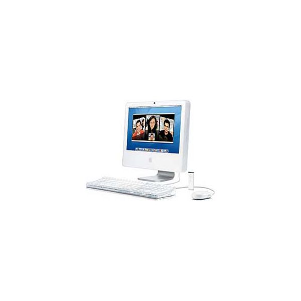 iMac 17-inch Core 2 Duo 1.83 GHz 160 GB HDD 512 MB RAM Zilver (Late 2006 CD)