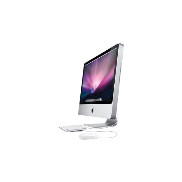 iMac 24-inch Core 2 Duo 2.66 GHz 640 GB HDD 4 GB RAM Zilver (Early 2009)