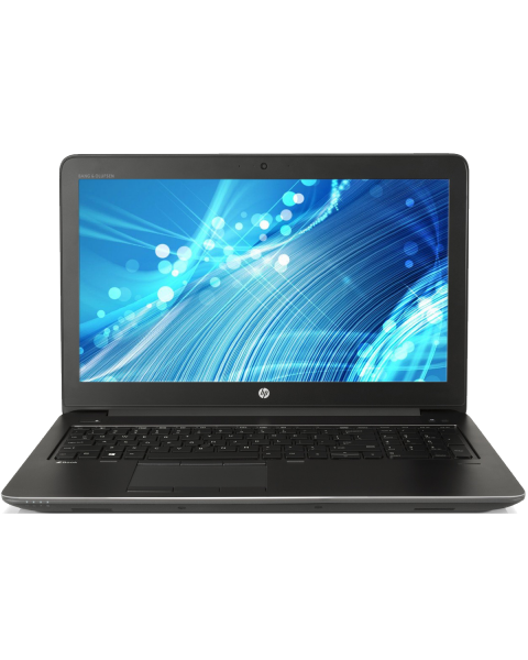 HP ZBook 15 G3 | 15.6 inch FHD | 6e generatie i7 | 256GB SSD | 16GB RAM | NVIDIA Quadro M1000M | QWERTY/AZERTY/QWERTZ
