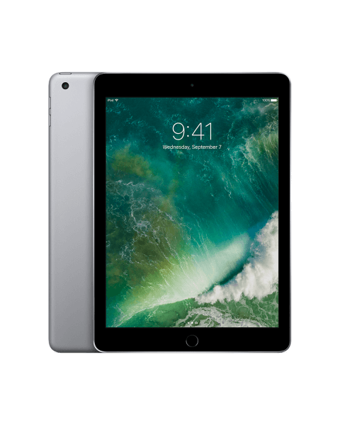 Refurbished iPad 2017 128GB WiFi zwart/space grijs