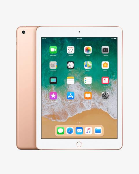 Refurbished iPad 2018 32GB WiFi + 4G goud