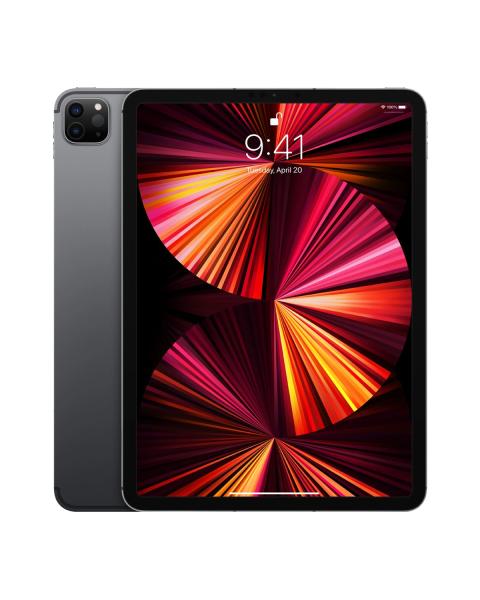 Refurbished iPad Pro 11-inch 128GB WiFi Spacegrijs (2021)