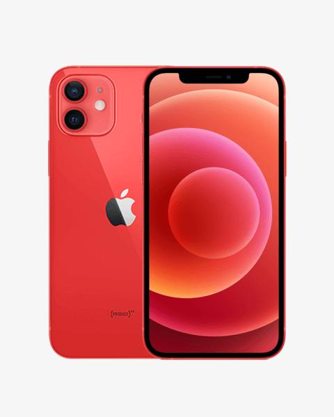 Refurbished iPhone 12 128GB rood