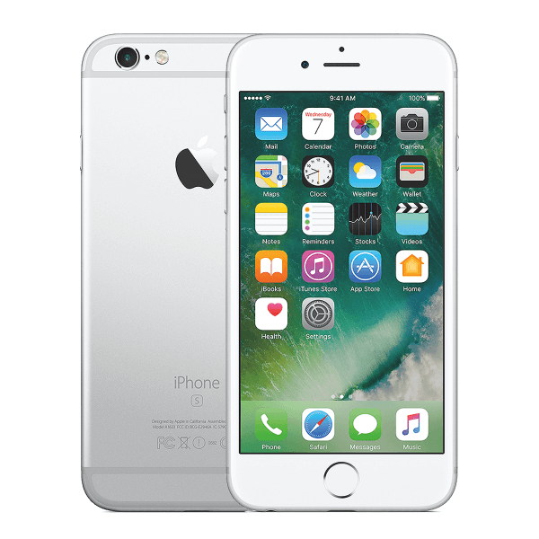 Refurbished iPhone 6S Plus 128GB zilver