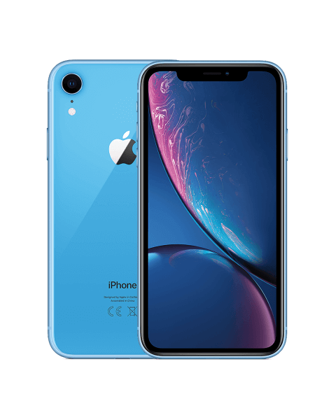 Refurbished iPhone XR 64GB blauw