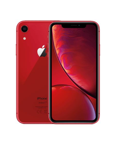 Refurbished iPhone XR 64GB rood