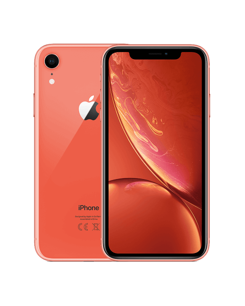 Refurbished iPhone XR 64GB roze