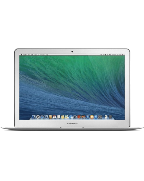MacBook Air 13-inch | Core i5 1.4 GHz | 128 GB SSD | 4 GB RAM | Zilver | QWERTY/AZERTY/QWERTZ  (Early 2014)