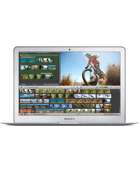 MacBook Air 13-inch Core i5 1.3 GHz 256 GB SSD 4 GB RAM Zilver (Mid 2013)