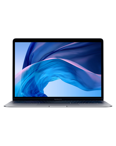 MacBook Air 13-inch | Core i5 1.6 GHz | 128 GB SSD | 8 GB RAM | Spacegrijs | QWERTY/AZERTY/QWERTZ (Late 2018)