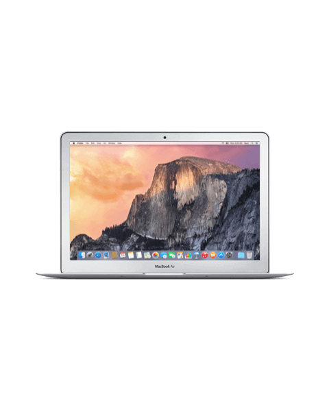 MacBook Air 13-inch Core i5 1.3 GHz 256 GB SSD 4 GB RAM Zilver (Mid 2013)