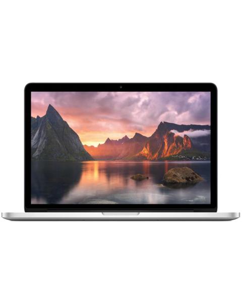 Macbook Pro 13-inch Core i5 2.7 GHz 480 GB SSD 8 GB RAM Zilver (Early 2015)