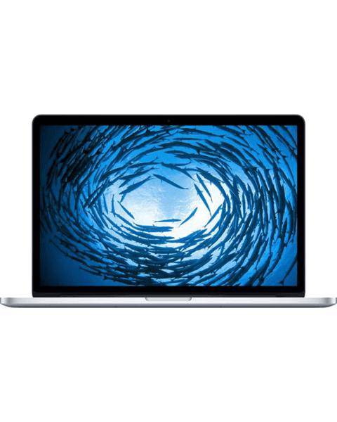 Macbook Pro 15-inch | Core i7 2.8 GHz | 1 TB SSD | 16 GB RAM | Zilver (Mid 2014)