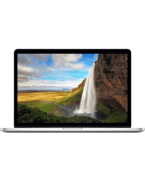 MacBook Pro 15-inch | Core i7 2.2 GHz | 256 GB SSD | 16 GB RAM | Zilver (Mid 2015) | Retina