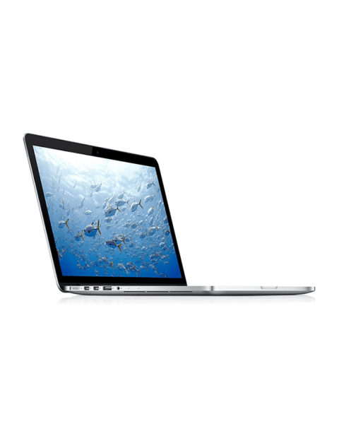 MacBook Pro 15-inch Core i7 2.8 GHz 256 GB SSD 16 GB RAM Zilver (Mid 2014)