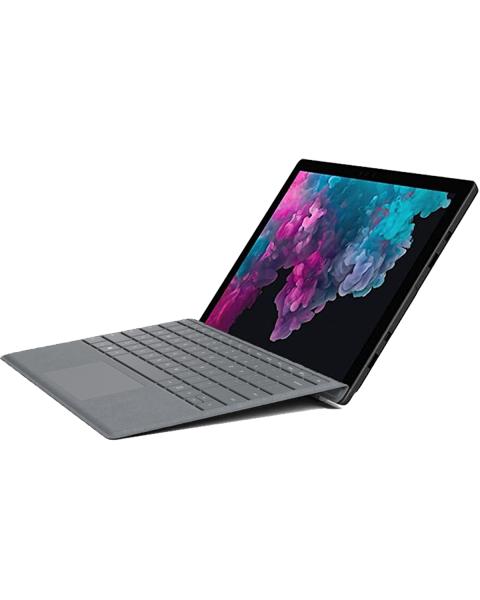 Refurbished Microsoft Surface Pro 5   12.3 inch   7e generatie i5   128GB SSD   8GB RAM   Grijs QWERTY toetsenbord   Exclusief Pen