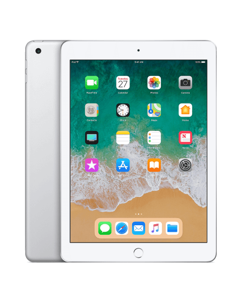 Refurbished iPad 2018 32GB WiFi zilver