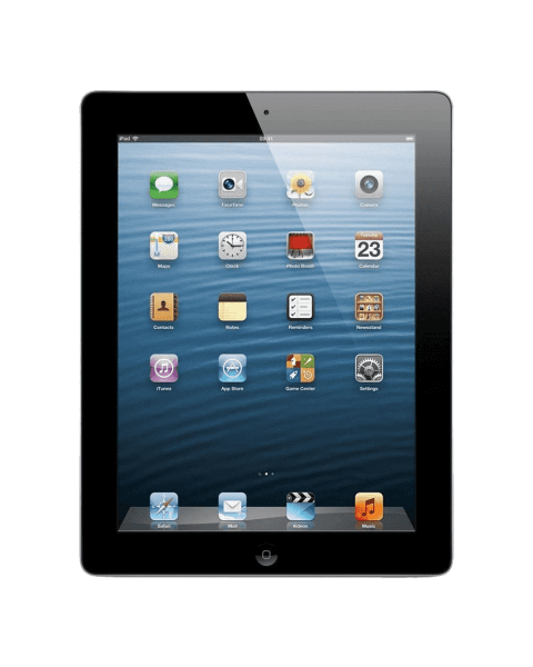 Refurbished iPad 4 32GB WiFi + 4G zwart