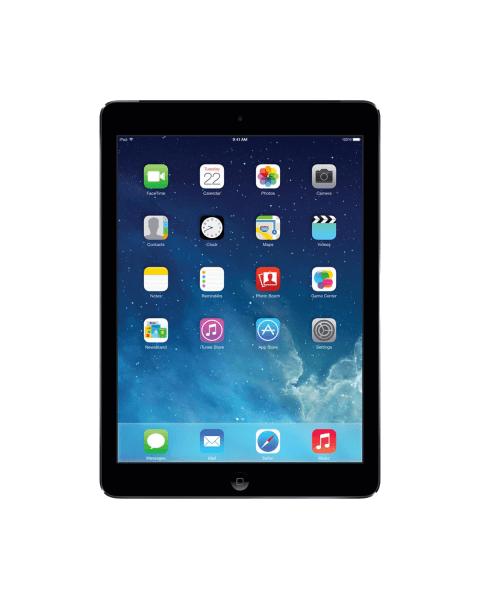 Refurbished iPad Air 1 128GB WiFi zwart/space grijs
