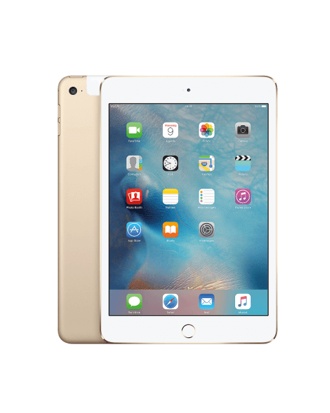 Refurbished iPad mini 4 64GB WiFi + 4G goud