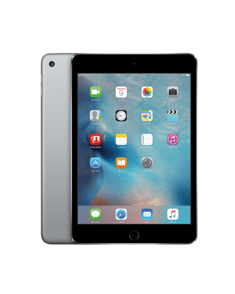 Refurbished iPad mini 4 16GB WiFi zwart