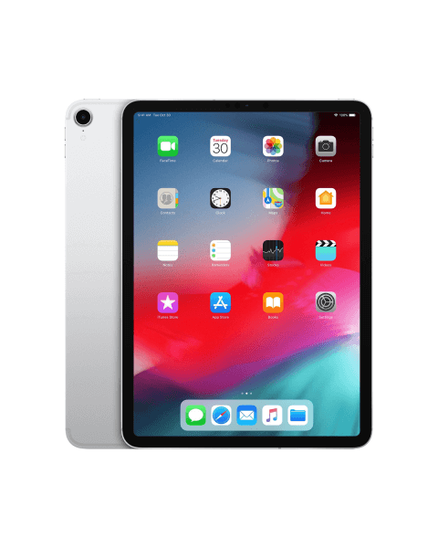 Refurbished iPad Pro 11-inch 64GB WiFi zilver (2018)