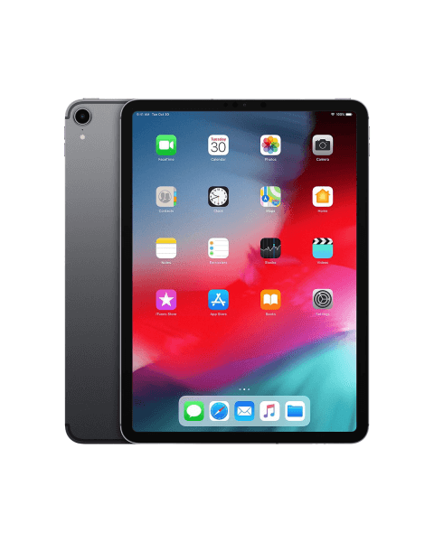 Refurbished iPad Pro 11-inch 64GB WiFi spacegrijs (2018)