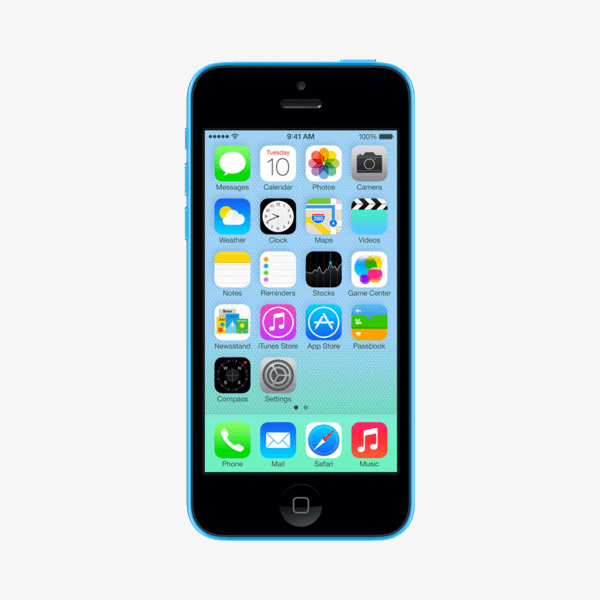 Refurbished iPhone 5C 16GB blauw
