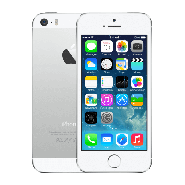Refurbished iPhone 5S 16GB zilver