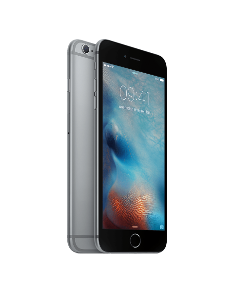 Refurbished iPhone 6 Plus 16GB zwart/space grijs
