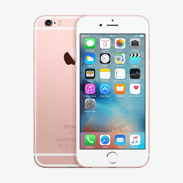 Refurbished iPhone 6S 16GB rosé goud