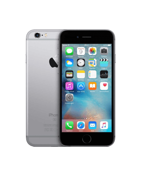 Refurbished iPhone 6S 128GB zwart/space grijs