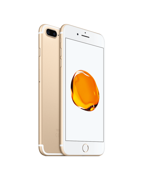 Refurbished iPhone 7 plus 256GB goud