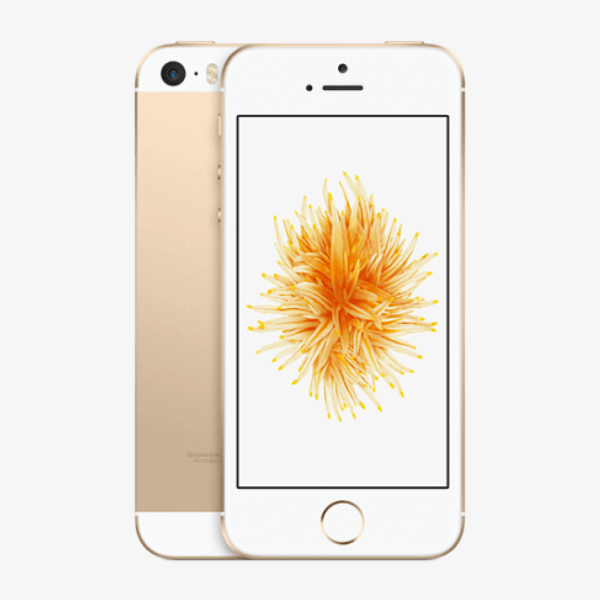 Refurbished iPhone SE 128GB goud