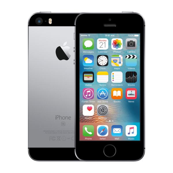 Refurbished iPhone SE 64GB zilver