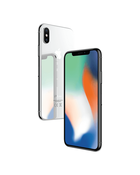 Refurbished iPhone X 256GB silver