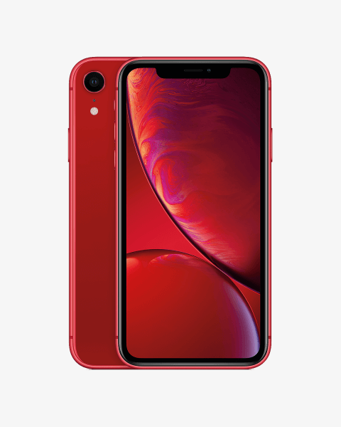 Refurbished iPhone XR 128GB rood