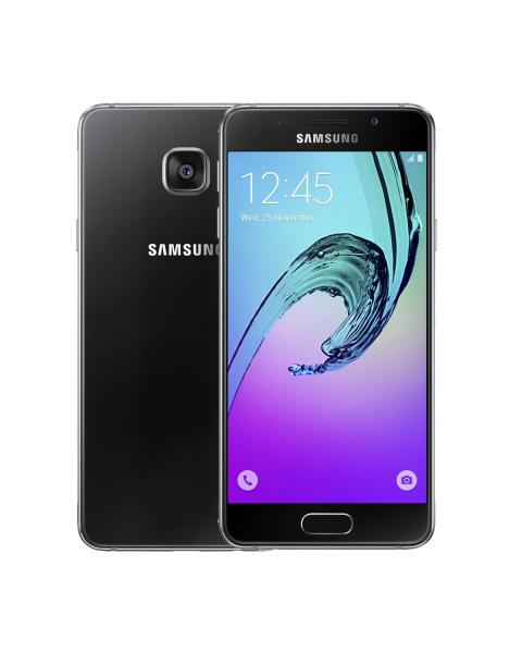 Refurbished Samsung Galaxy A3 16GB Zwart (2016)