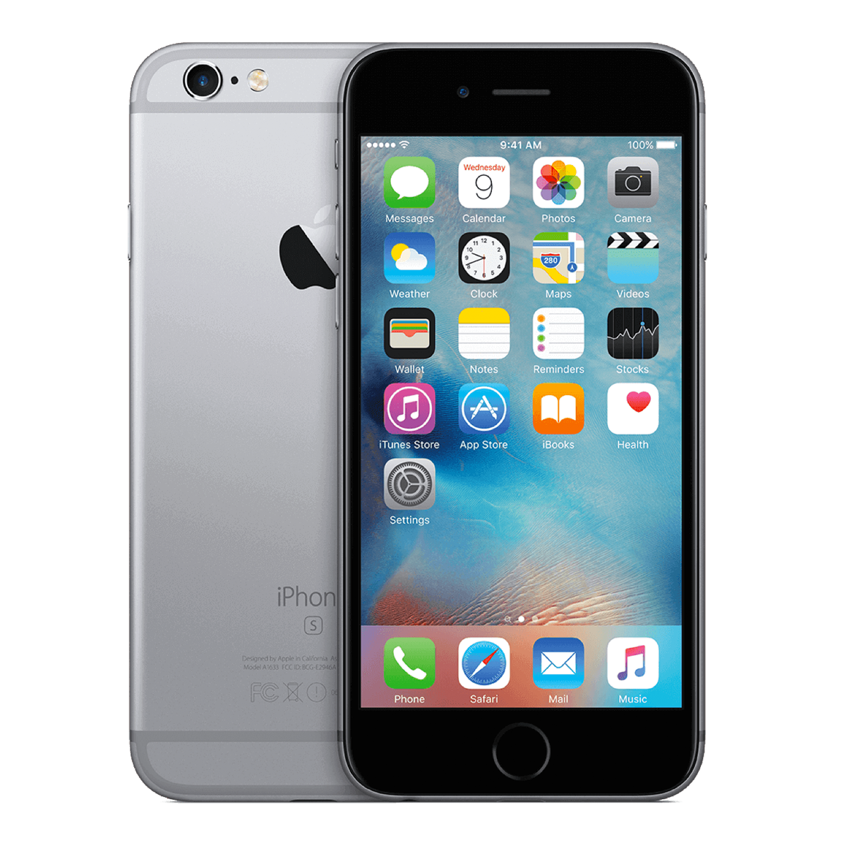 Refurbished Iphone 6s plus space gray